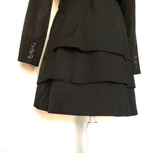 Guess Jackets & Coats - GUESS Womens Trench Coat Black Mid Length S
